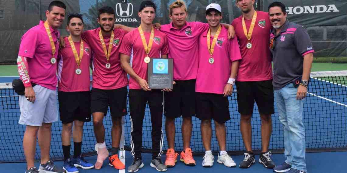Campeones los Cocodrilos del tenis masculino de la LAI