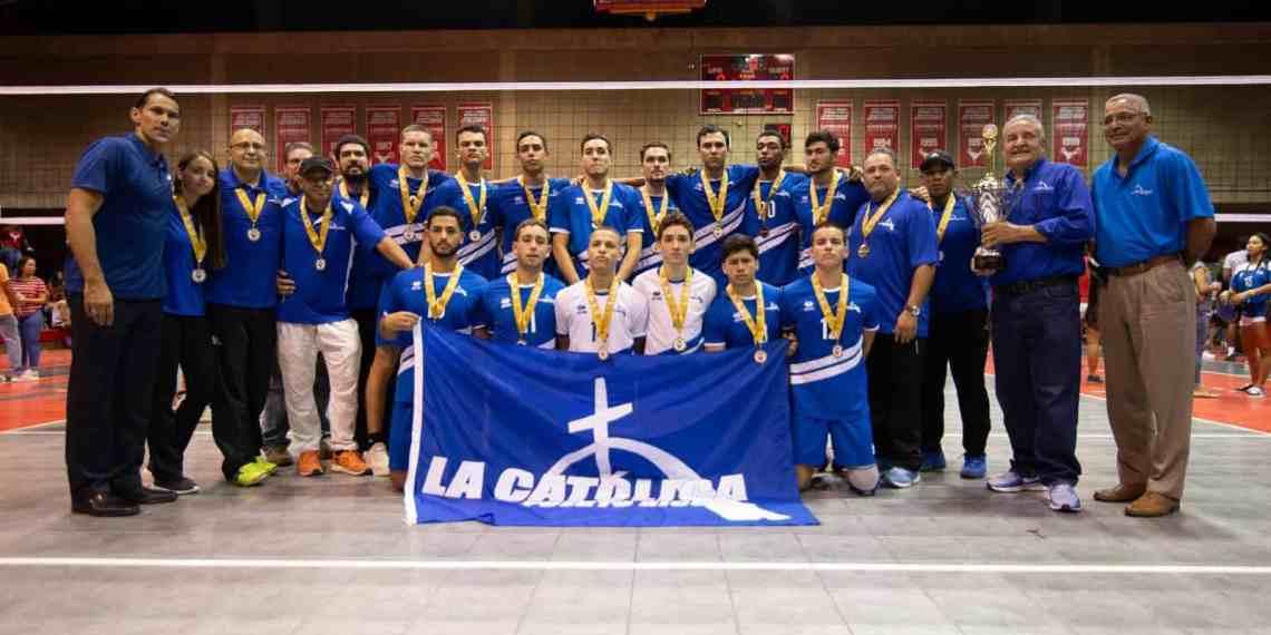 Los pioneros se coronan campeón del voleibol universitario