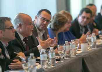 Sindicalistas puertorriqueños expresan sus reclamos a congresistas estadounidenses