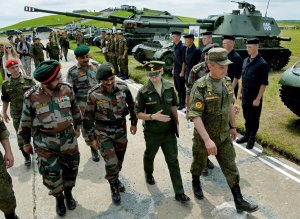 Las maniobras ruso-indias de las tropas de tierra Indra-2016 © SPUTNIK/ VITALY ANKOV (Imagen desde portal https://mundo.sputniknews.com)