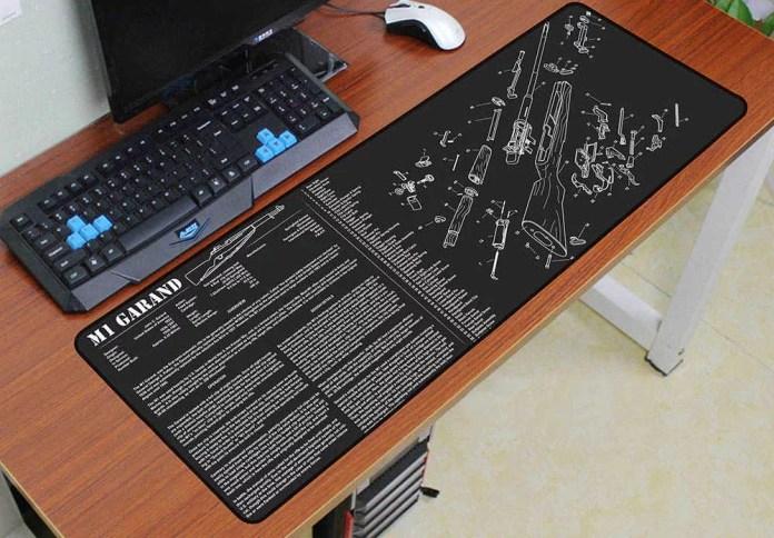 Mouse pad gaming detallado