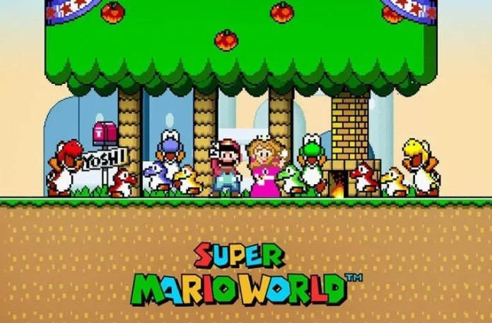 Personajes Super Mario World
