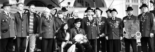 W czasie uroczystości odbyła się m.in. intronizacja Króla Kurkowego Bractwa Strzeleckiego, którym został Jędrzej Gołąbek.