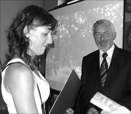 Przedstawicielka rodziny państwa Rosengart z ul. Iwaszkiewicza.