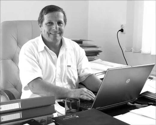 Czesław Kordel kieruje Miejskim Zakadem Komunikacji od 14 lat.