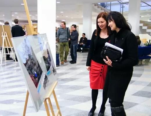 Prof. Maria Mendel i Aleksandra Kurowska-Susdorf.
