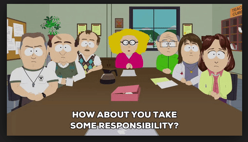 South Park Board Meeting Picture