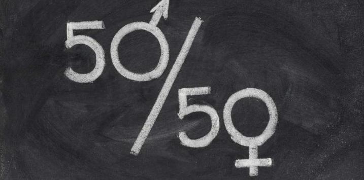50/50 Gender Equal