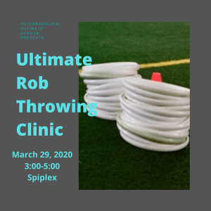 Throwing Clinic Ad
