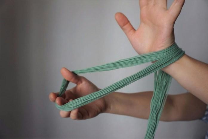 montage de la chainette pour un métier à tisser partie 2