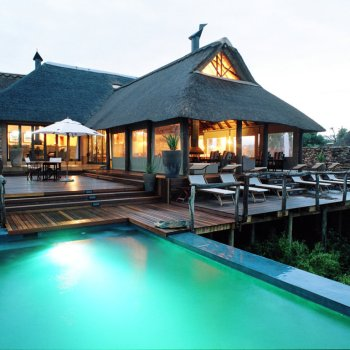 Pumba Private Game Reserve Weddings Water Lodge Main Deck Area