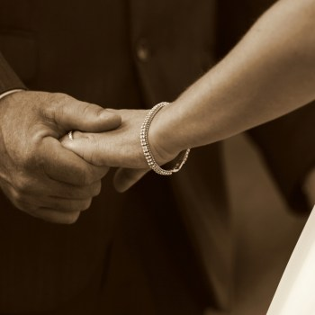 Pumba Private Game Reserve Weddings Wedding Ceremony Couple Holding Hands