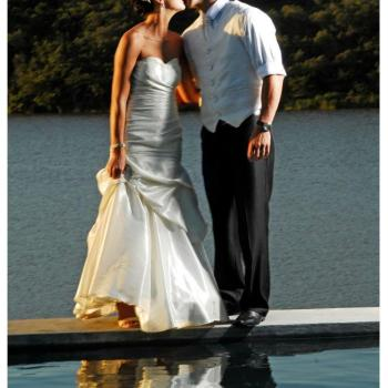 Pumba Private Game Reserve Weddings Wedding Couple Poolside Kiss