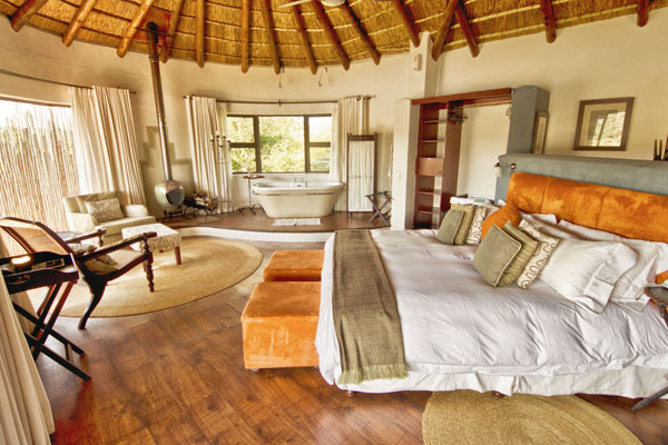Pumba Water Lodge Superior Gemsbok Chalet Interior View