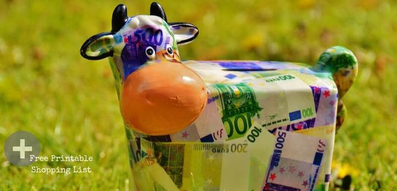3 easy tips to help you save money on your food shopping bill at PumpjackPiddlewick
