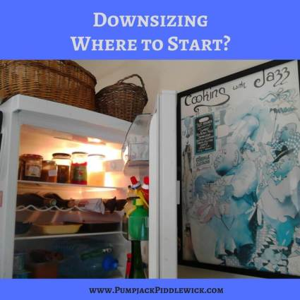 Downsizing Where to Start Blog with PumpjackPiddlewick