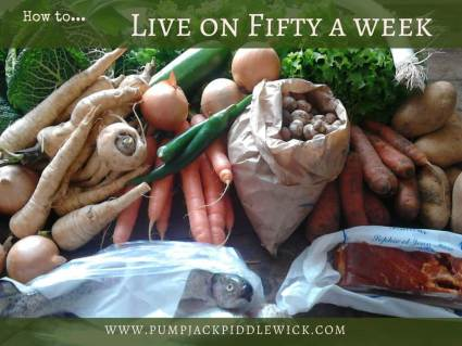How to live healthy on 50 a week at PumpjackPiddlewick