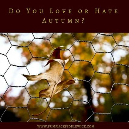 Do you love or hate autumn asks PumjackPiddlewick