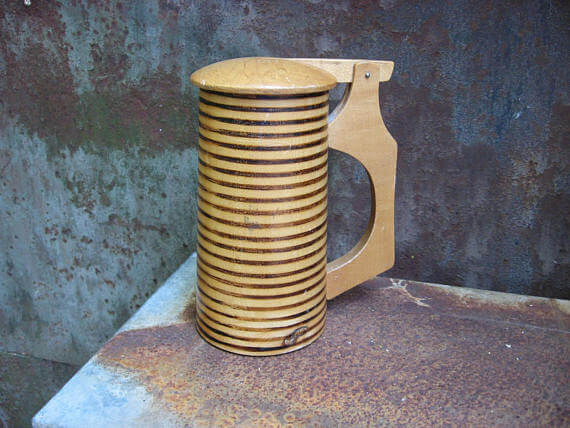 Beer stein at PumpjackPiddlewick on Etsy