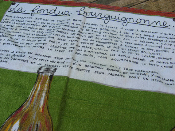 Fondue tea towel_Sold at PumpjackPiddlewick