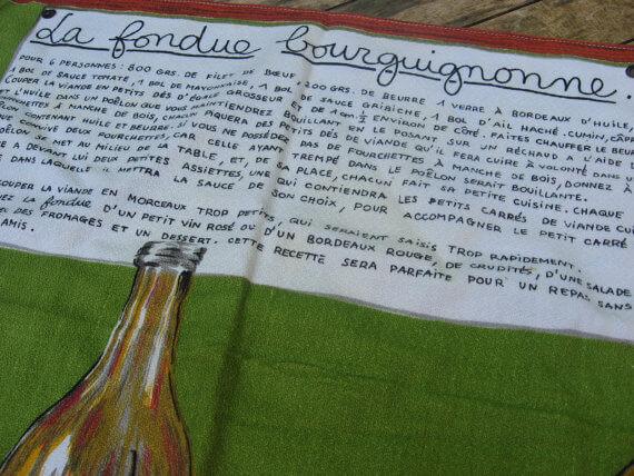 Fondue tea towel_Sold at PumpjackPiddlewick