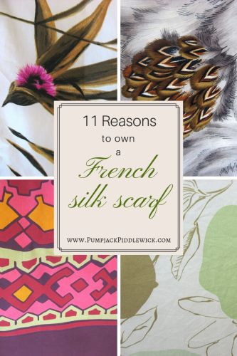 11 reasons to own a French Silk Scarf