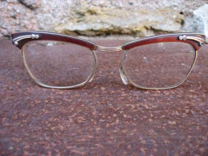 1950s cateye glasses for women at PumpjackPiddlewick