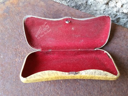 1950s glasses case at PumpjackPiddlewick