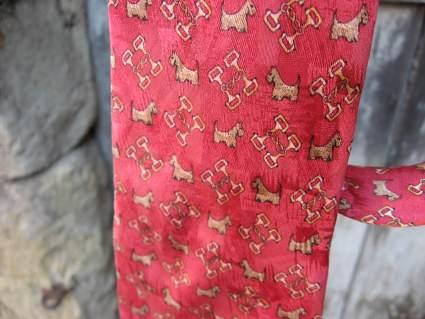 Scotty dog neck tie at PumpjackPiddlewick