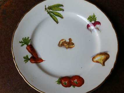 Vegetable garden design plate at PumpjackPiddlewick