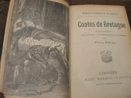 French tales of Britain antique book