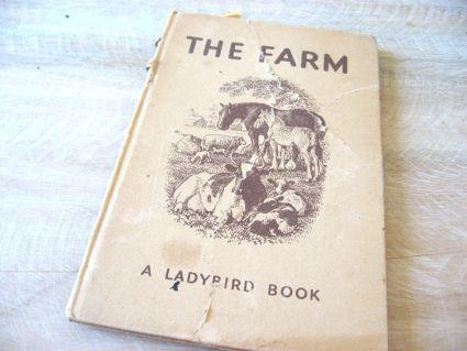 Vintage Ladybird book The Farm
