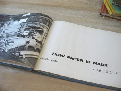 How to make paper vintage book