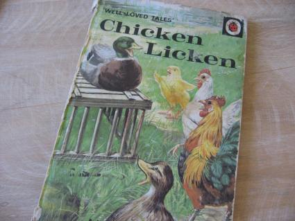 Chicken Licken vintage story book