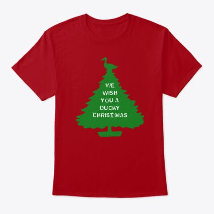 We wish you a ducky christmas from PumpjackPiddlewick on teespring