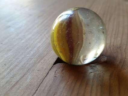 glass hand blown marbles at PumpjackPiddlewick