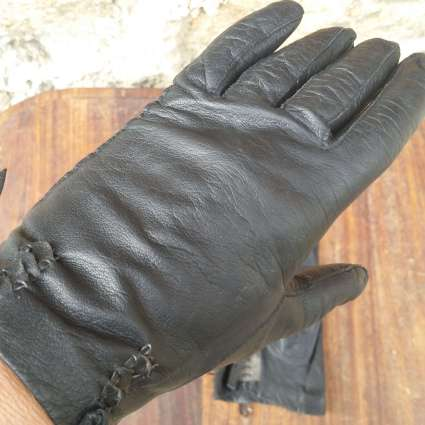 French leather gloves at PumpjackPiddlewick on Etsy