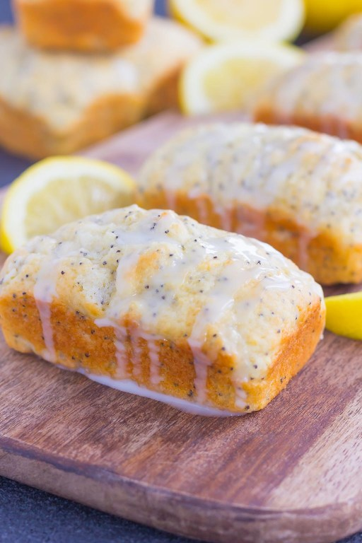 These Mini Lemon Poppy Seed Loaves are light, moist, and full of lemon flavor. Perfect for the summer and to give as a home-made gift for that special someone!