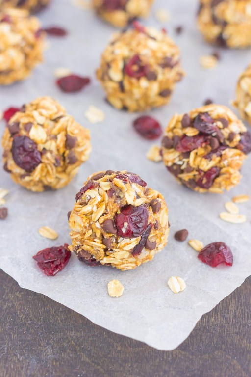 These Cherry Chocolate Chip Energy Bites are a simple, no-bake treat,filled with healthier ingredients and loaded with flavor. Perfect for a quickbreakfast, snack, or even dessert, you'll be whipping up these bites all year long!