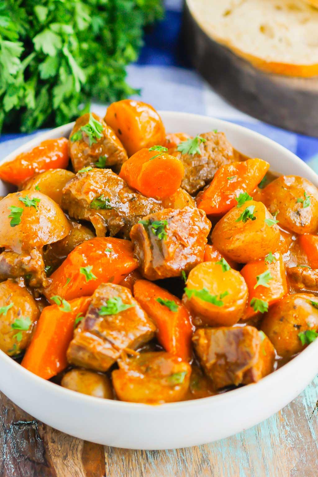 Instant Pot Beef Stew - Pumpkin 'N Spice