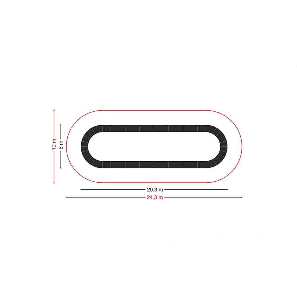 PC02 speedway dimensions - PC02 - Pumptrack Speedway