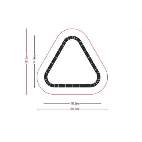 PC02A Triangle dimensions 500x500 - PC02A - Pumptrack triangle
