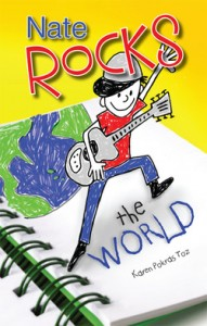 Nate Rocks the World cover