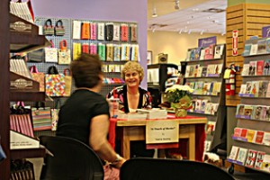 Valerie Stocking booksigning
