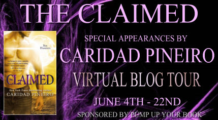 THE CLAIMED Blog Tour