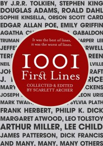 1001 First Lines