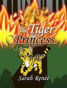 The Tiger Princess Cover 1