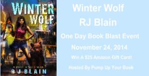 Winter Wolf Banner