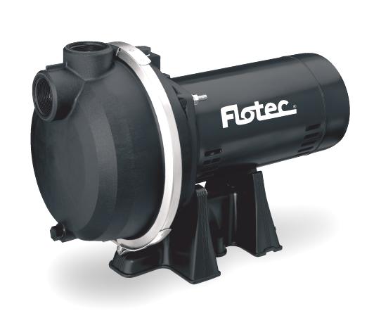 Flotec Fp Sprinkler Pump Self Priming 1 1 2hp