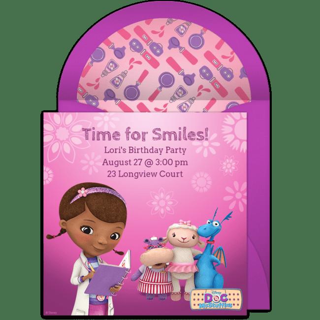 free doc mcstuffins check up online